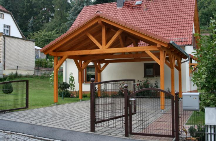 Carport aus Holz Holzcarport Carports Holzcarports individuell ...