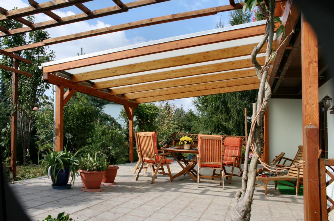 Terrassenüberdachungen aus Holz, Terrassenüberdachung ...